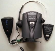 CN Netcom Ellipse Draadloze headset met PC optie