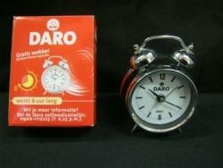 DARO(anti-hoest middel)reclamewekker/-klokje,NIEUW in doos