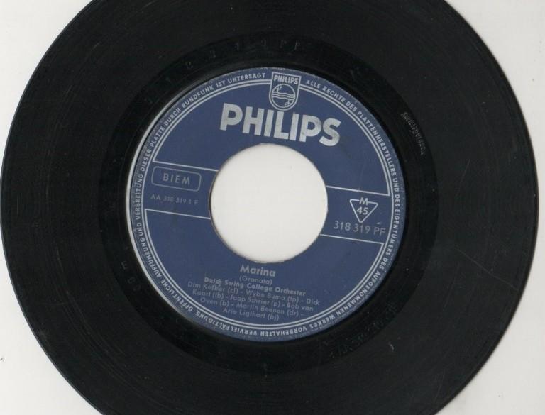 Single Dutch Swing College Band,gst,jr '60,geen origin. hoe…