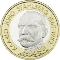 Finland 5 Euro 2016 Stahlberg