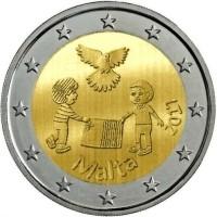 Malta 2 Euro 2017 Vrede