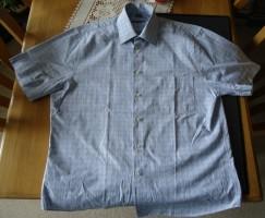 Geruit overhemd met korte mouwen van Dansaert Classic, 41/4…