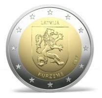 Letland 2 Euro 2017 Kurzeme