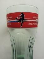 Coca Cola glas uit 2004 voetbal
