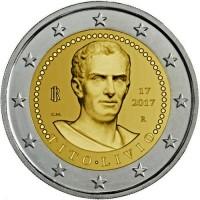 Italië 2 Euro 2017 Titus Livius