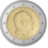 Monaco 1 Euro 2014 UNC