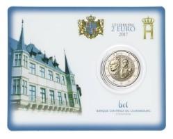 Luxemburg 2 Euro 2017 Coincard Willem III