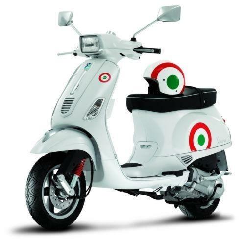 Vele stickers Vespa, Piaggio, Italie etc