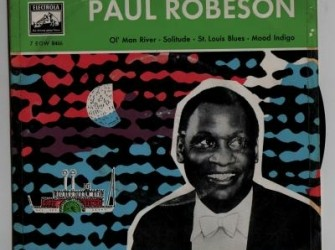 EP single Paul Robeson, jr'50,gst, ned. pers,electrola