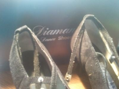 Diamant Dance Shoes maat 5,5 / 38-39