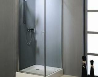 hoekinstap douchekabine vierkant douche kabine