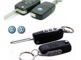 Klapsleutel inbouwset + VW sleutels Centr Vergrend