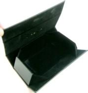 op-/uitvouwbare brillenkoker,NIEUW, zwart,16.5 x 14 x 7 cm