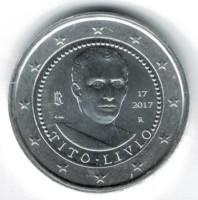 Italië 2 Euro 2017 Titus Livius Verzilverd