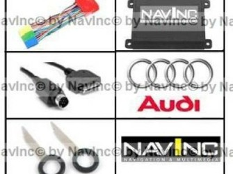 NavInc: Audi iPod interface 8-pins wisselaar aansl
