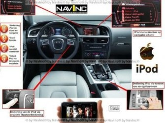 NavInc: Audi A8, Q7 MMI high 2G iPod interface