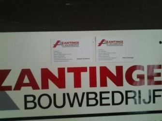 Voor groot of klein onderhoud, Zantinge Bouwbedrijf