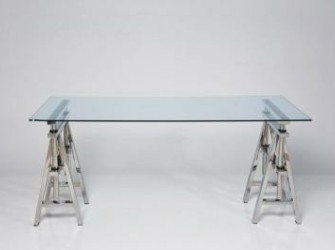 Studio Design Tafel Gehard Glas Hoogte Verstelbaar