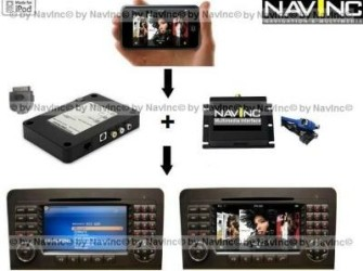NavInc: Audi NaviPlus iPod Audio+Video aansluiting