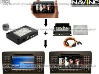 Audi MMI high 2G iPod Audio+Video aansluiting