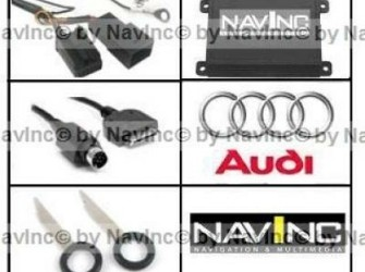 NavInc Audi iPod interface 12-pins wisselaar aansl