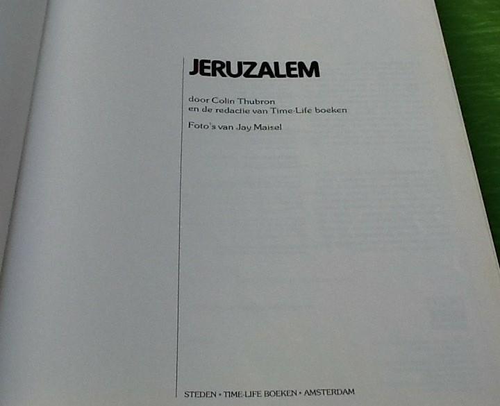 Boeken over Jeruzalem