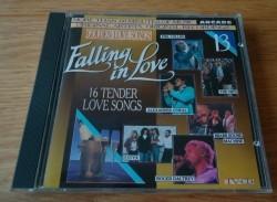 """De originele CD """"Golden Love Songs 13: Falling In Love""""."""