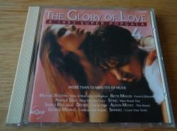 """De originele verzamel-CD """"The Glory Of Love 4"""" van Magnum."""