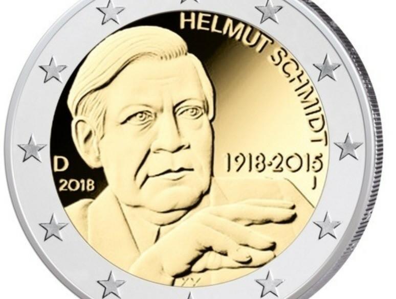 Duitsland 2 Euro 2018 Helmut Schmidt