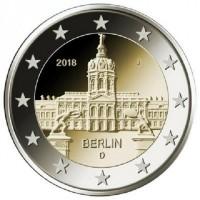 Duitsland 2 Euro 2018 Berlijn Charlottenburg
