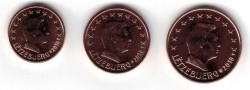 Luxemburg 1+2+5 Cent 2018