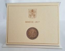 Vaticaan 2 Euro 2017 Fatima