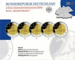 Duitsland 2 Euro 2018 Charlottenburg Proof