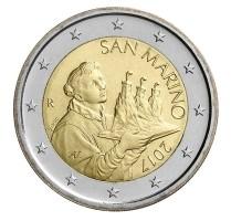 San Marino 2 Euro 2017 Normaal