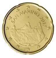 San Marino 20 Cent 2017 UNC