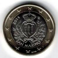 San Marino 1 Euro 2014