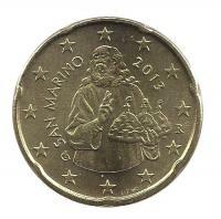 San Marino 20 Cent 2013