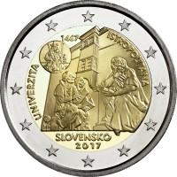 Slowakije 2 Euro 2017 Universiteit Istropolitana
