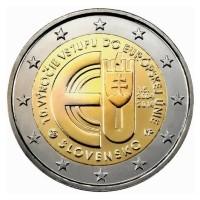 Slowakije 2 Euro 2014 10 Jaar EU