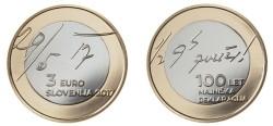 Slovenië 3 Euro 2017 Mei Verklaring