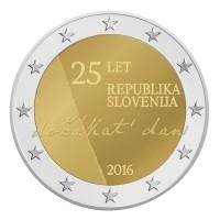 Slovenie 2 Euro 2016 25 jaar Onafhankelijkheid