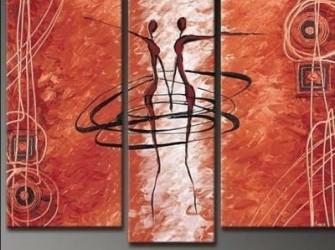 """""""Samenspel"""" Prachtig Origineel Olieverfschilderij"""
