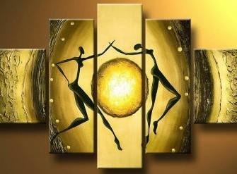 """""""Together""""  Handgeschilderd Olieverfschilderij"""