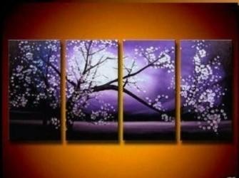 """""""Violeta"""" Nieuw Prachtig """" VioleOlieverfschilderij"""