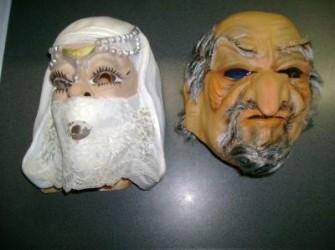 carnavalsmasker haremmeisje arabier verkocht