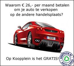 Gratis uw auto verkopen.