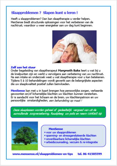 Slaaptips:http://www.mensense.nl/slaapproblemen-en-tips.htm…