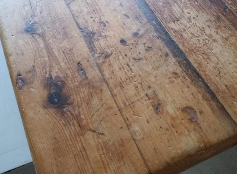 Verbazingwekkend Mooie oude grenen eettafel - Den Haag - Koopplein.nl QN-72