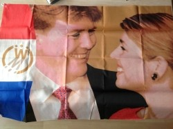 Verlovingsvlag prins Alexander en Maxima