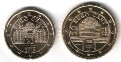 Oostenrijk 20 en 50 Cent 2018